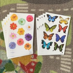 Other - Spring Flower Butterfly Stickers (80+ Stickers!)